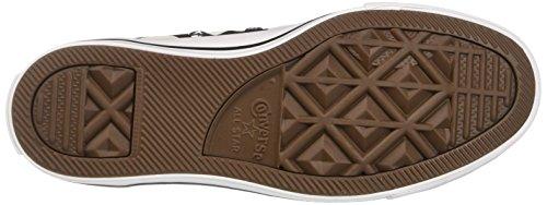 Converse Ctas Hi, Sneaker a Collo Alto Donna Nero (Black/White/White)