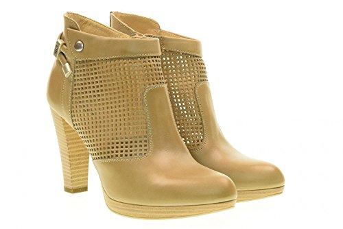 NERO con 439 alto tacco scarpe P717005D Sabbia donna tronchetti GIARDINI Iq7wBnrIg