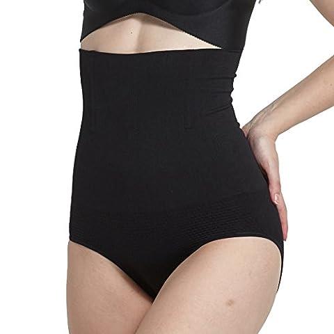 INIBUD Culotte Gainante sans Couture avec Armature Amincissante Minceur Taille
