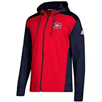 adidas Montreal Canadiens NHL Full-Zip Hoodie Sweatshirt