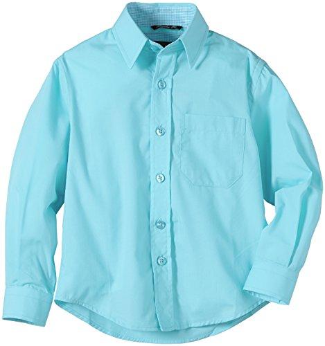 G.O.L. Jungen Hemd mit Kentkragen, Türkis (Aqua 12), 92 (Aqua-hemd)
