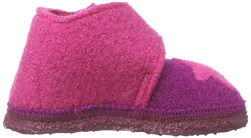 NangaStern - Pantofole Bimba 0-24 Multicolore (Mehrfarbig (Beere 26))