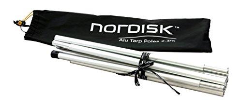 Nordisk Tarp poles - Aluminium Stangen für Tarps (2 Stück/138 cm)
