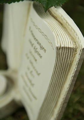 """Grabbuch mit Teelichthalter und Vase """"In stillem Gedenken"""" von friedhofskerze.de - Du und dein Garten"""