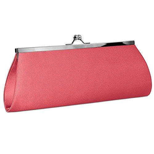 CASPAR Taschen & Accessoires, Poschette giorno donna koralle