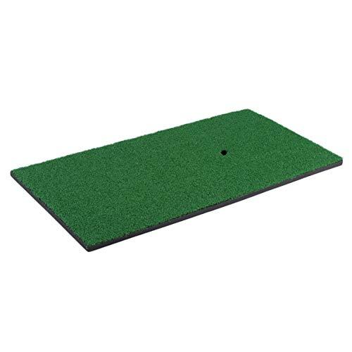 Monllack 12X24 Zoll Indoor Hinterhof Golf Chipping Driving Range Trainingsmatte, Golf Schlagen Übungspad Golf Schlagen Grasmatte