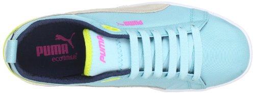 Puma Future Suede Lite Wn's 355960, Sneaker donna Blu (Blau (clearwater-fluo yellow 03))