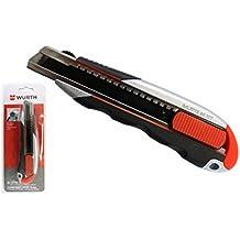 Würth Profi 3K-Cutter-Messer mit Arretierfunktion - 18mm