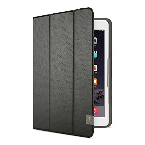 Belkin Universal Trifold Schutzhülle (für Tablets, Apple iPad Air, iPad Air 2, iPad 2017, Samsung Galaxy Tab A (10 Zoll), S2 (10 Zoll)) schwarz
