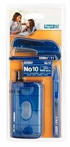 Rapid T1 Agrafeuse de bureau Bleu transparent (Import Royaume Uni)