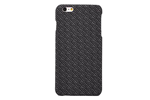 iPhone 6s Plus / 6 Plus Case, CAPY [Plaid pattern Series] [Polypropylene Leather] Soft Corrected Grain Leather Case , Leather Case Back Cover for iPhone 6 Plus / iPhone 6s Plus 5.5 inch (Grey)