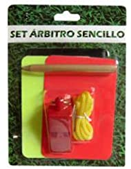 Softee 0004013, Set Arbitro Unisex, Negro, M