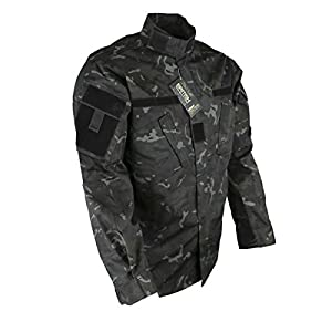 Kombat ACU Shirt BTP Night Camo Airsoft Military Style Multicam Style Ripstop