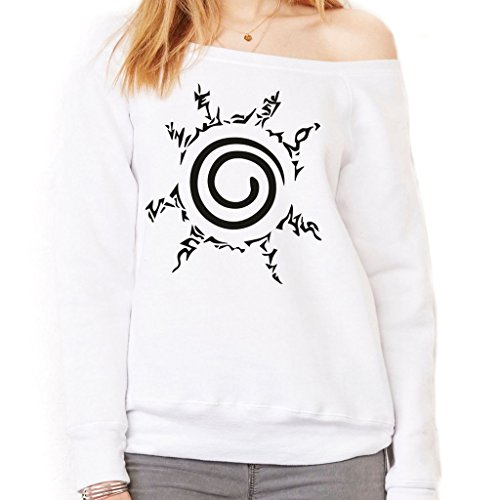 Felpa Fashion SIGILLO KYUBI NARUTO - CARTOON by Mush Dress Your Style - Donna-S-Bianca