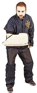DINGO GEAR Ripstop Veste pour Assistant, Protection légère Faite à la Main pour Dressage de Chien Decoy S01007, L