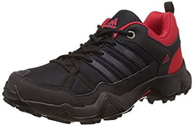 adidas Men's Storm Raiser Black, Grey and Red Running Shoes - 12 UK