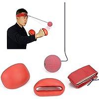 Tourwin Boxing Speedball Kopf Sport Boxen Rebound Ball für Reflex Speed Training Boxen Punch Übung