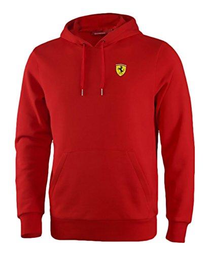 Ferrari -  Felpa  - Uomo rosso M