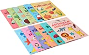 Amazon Brand - Solimo Picture Books Collection for Early Learning (Set of 12)