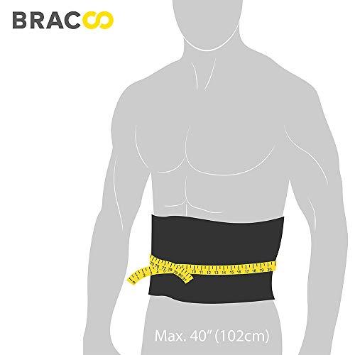 BRACOO Fitnessgürtel – Damen & Herren – Hot Belt – Schwitzgürtel – Waist Trimmer | Schnell & Einfach Abnehmen mit dem Bauchweggürtel - 6
