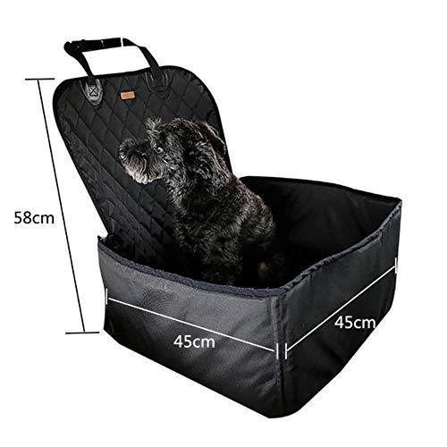L-DDYX Haustier Hund Autositzbezug wasserdichte Hundetrage Safe Hund Autositz Korb Katze Welpen Tasche Reise Mesh Hängen Taschen, f