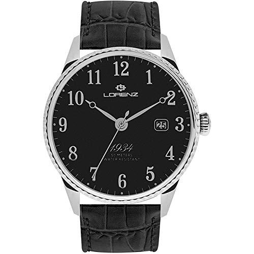 orologio solo tempo uomo Lorenz 1934 trendy cod. 030102BB