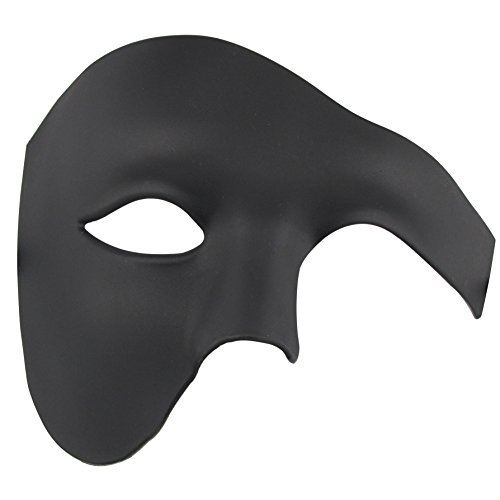 Halbes Gesicht Maskerade Maske Halloween Kostüm Phantom