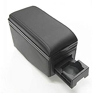 Universal Armrest Arm Rest Centre Console For Car Auto Van Bus Black