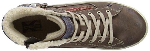 Mustang 4052-505-360 Herren Sneaker Braun (Mittelbraun)