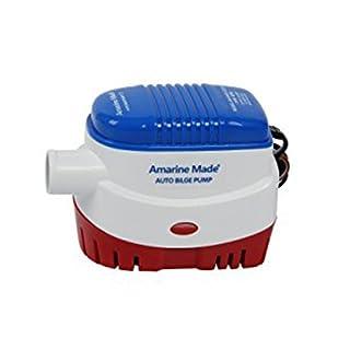 Amarine-made Automatische Tauchpumpe Boot Bilgenpumpe 12V 1100GPH mit automatischem Schwimmerschalter switch-new