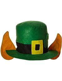 Felt Leprechaun Hat w/Ears Party Accessory (1 count) (1/Pkg)