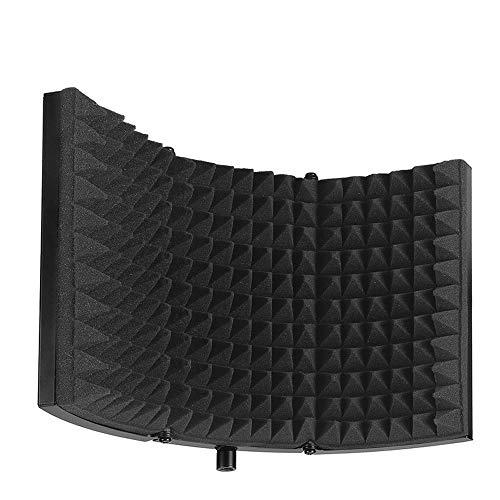 Kalaok Registrazione Microfono Schermo del vento Pannello Coperchio fonoassorbente Microfono Schermata di isolamento acustico Piastra insonorizzante