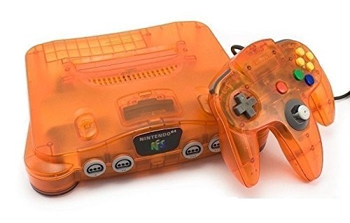 Nintendo 64 Clear Blue Ersatzkonsole (Super 64 Nintendo Controller)