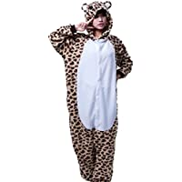 Cliont Animal Ghepardo Pigiama Kigurumi Sleepwear Nightclothes Costume Cosplay Anime