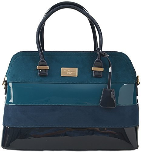 David Jones, Borsa a spalla donna L - Blu, Large