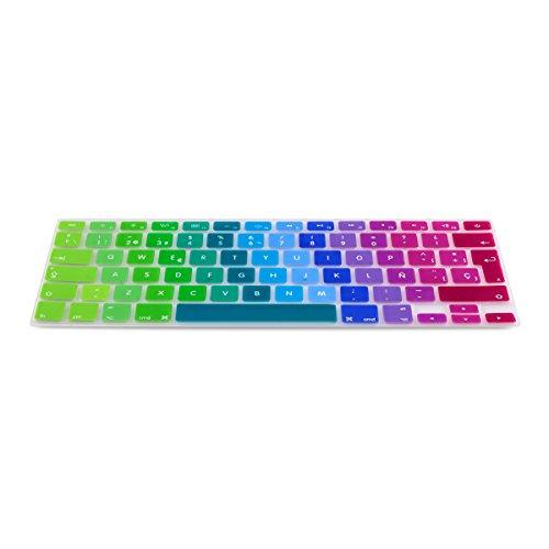 Protector de silicona para teclado QWERTY (ES) MacBook