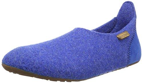 Bisgaard Unisex-Kinder Hausschuhe-Wool Basic Slipper, Blau (26 Cobalt), 24 EU