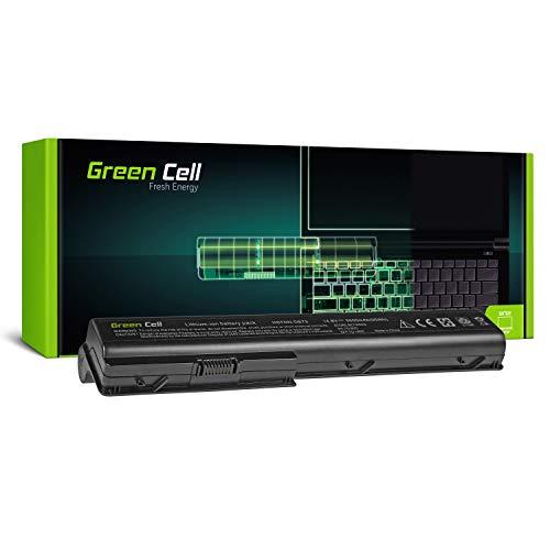GC® Extended Serie Laptop Akku für HP Pavilion DV7-1030ES DV7-1030EV DV7-1030EZ DV7-1030TX DV7-1030XX (6600mAh 14.8V Schwarz) -
