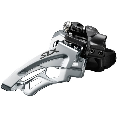 Shimano SLX FD-M7000 Umwerfer Schelle tief 3x10 Side Swing Schwarz 2017 Mountainbike