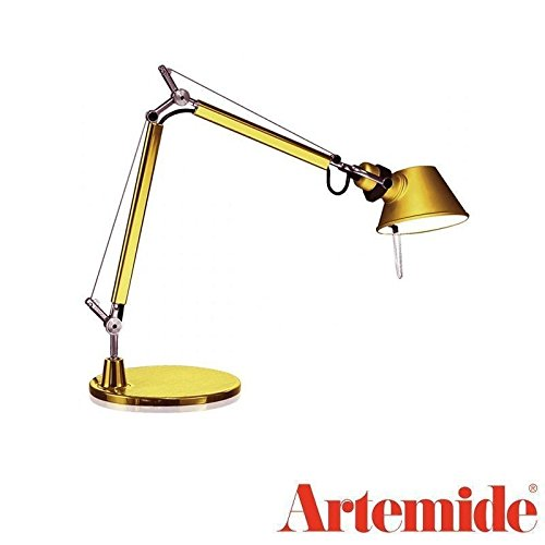 Artemide Tolomeo Micro T Gold LED Lampe de table design a011860 a 1987 Italy