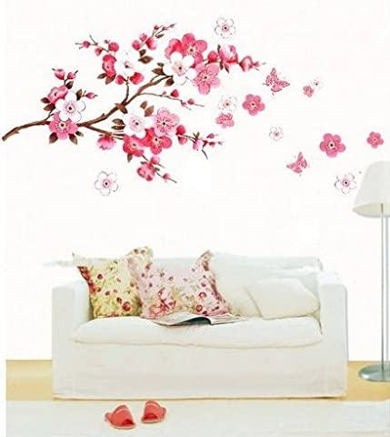 J*myi J*myi flower over the tree light DIY Removable Art Vinyl Quote Wall Sticker Decal Mural Home Room