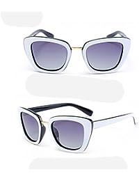 ZHANG Lunettes de soleil mode coloré lunettes de soleil en métal unisexe lunettes de sourcils, 4