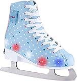 X-TECH ICE STAR LED Schlittschuh lightblue/pink/white, 31-34