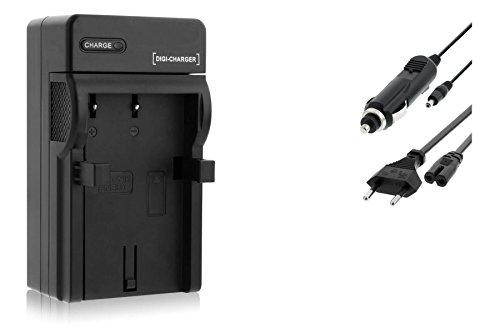 Cargador (Coche/Corriente) para Nikon EN-EL9 / D40, D40x, D60, D3000, D5000