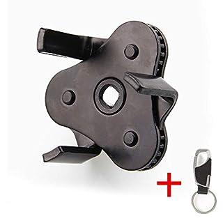 Ölfilterschlüssel 53mm - 108mm Durchmesser herausnehmbare Filter Universal Auto Ölfilter Werkzeug schwarz