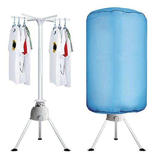 Turbo Asciugabiancheria elettrico riscaldato ad aria calda dry stendibiancheria asciugatrice stendino verticale 1200W baloon clothes dryer