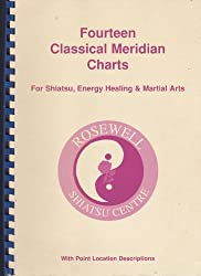 Fourteen Classical Meridian Charts: For Shiatsu, Energyhealing and Martial Arts with Point Location Descriptions