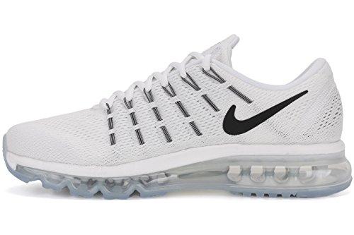 Nike Air Max 2016 Scarpe da Ginnastica Bianco / Nero (Summit White/Black-White)