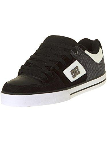 DC ShoesPure Se - Basse Uomo , nero (Nero (Black/White)), 42 EU