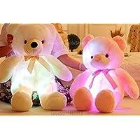 MangoPeopleShop Glow Up Light Plush Teddy Stuffed Toy-Pink(65cm)